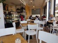 Cafe $10500 takings 4 p.m. close