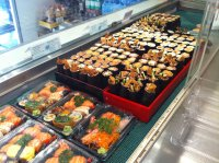 Sushi, St Kilda Road $8,200 takings, 5 days.